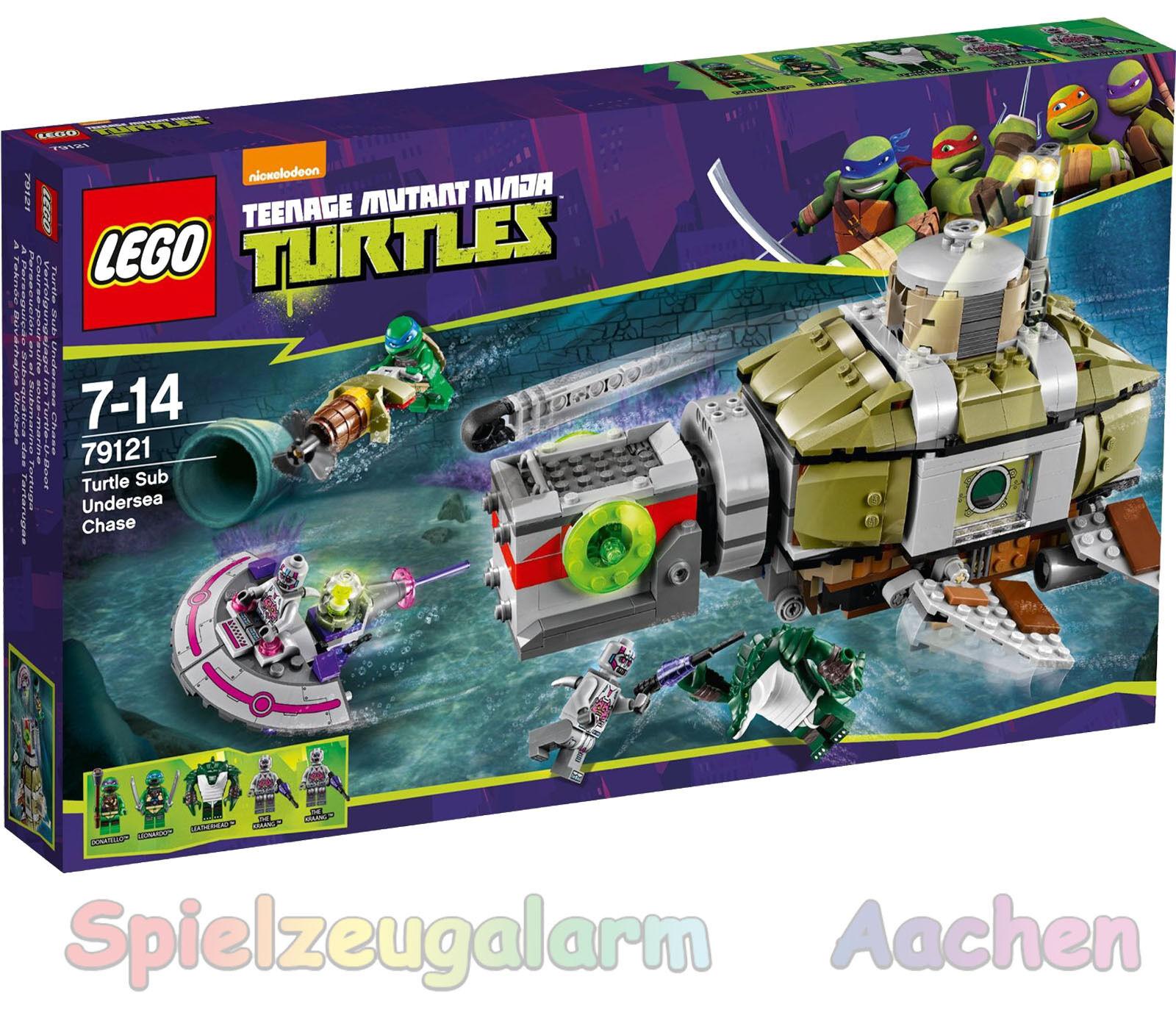 LEGO 79121 teenage mutant ninja turtles course poursuite poursuite poursuite en turtle u Boot 05cfed