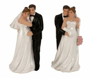 Hochzeitspaar-Schwanger-Brautpaar-Hochzeit-Tortenfigur-Deko-Figur-Heirat-NEU