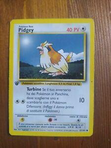 Pidgey 57/102 ITA Pokemon Card Light Played 1 Edition