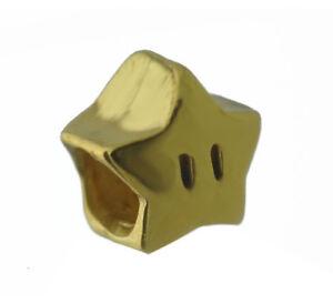 Super-Mario-invincibility-power-Super-star-24kt-gold-plated-european-bead-charm