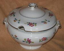UNUSED Wedgwood Chinese Flowers English Fine Bone China Large Soup Tureen R4498