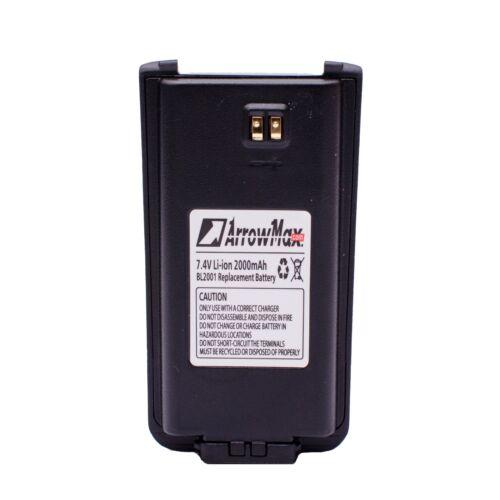 BL2001 BL1204 2000mAh Battery for Hytera HYT Radio TC-610 TC-610P TC-620