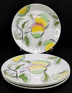 Johnson-Brothers-Dorado-Ironstone-Dinner-Plates-10-034-Set-Of-4-Made-In-England