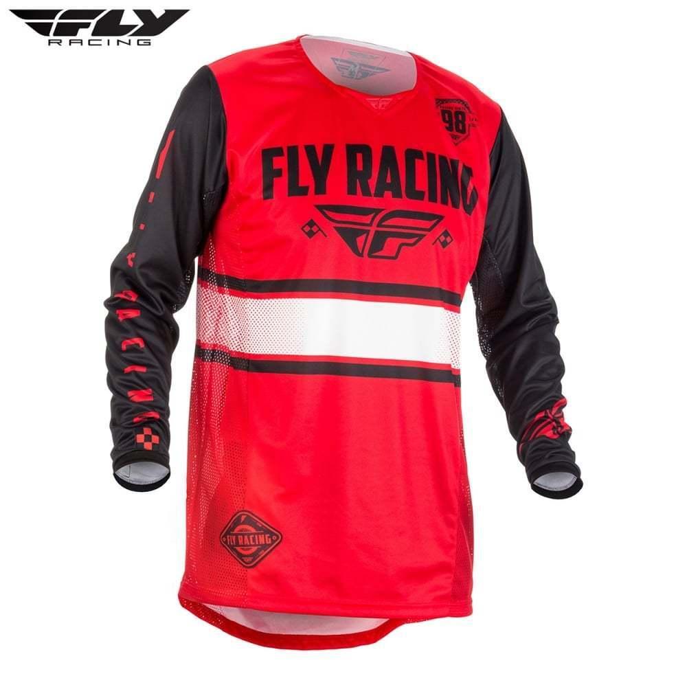 Fly Racing 2018 Adults Kinetic Era Motocross MX Enduro Jersey