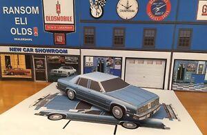 Papercraft 1977 Chevrolet Caprice 4 door sedan Paper Model Car 1pc U-make
