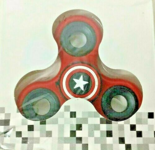 Fidget Spinners 3 Designs Captain America Superman Tri Hand Spinner USA Located