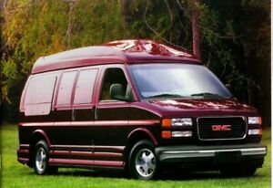 2001 gmc savana van brochure catalog with color chart conversion sle custom ebay details about 2001 gmc savana van brochure catalog with color chart conversion sle custom