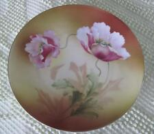 """Reinhold Schlegelmilch RS Germany Poppies 7 7/8"""" Plate"""