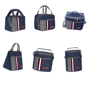 Portable-Isole-Thermal-Cooler-Lunch-Box-Carry-Tote-Picnic-Case-sac-de-rangement