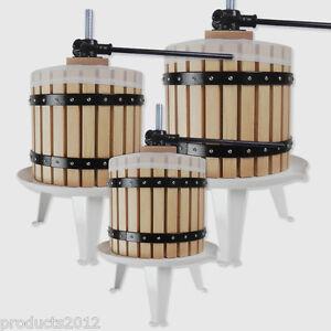 Fruit-Press-Wine-Making-Tool-Grape-Cider-Berry-Pear-Apple-Juice-6-12-or-18-Litre
