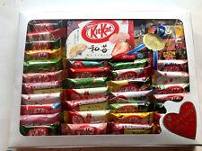 Japan kitkat NESTLES mini kit kats TIROL chocolate 50P SAKE ginger mint custard