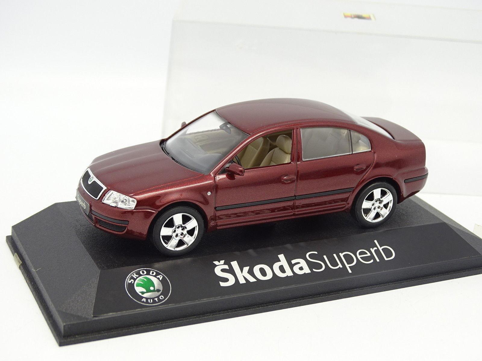 Kaden Abrex 1 43 - Skoda Superb Red