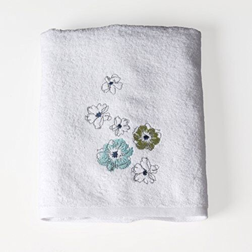 Roberto Floral Bath Hand Fingertip Towel Saturday Knight Blues Greens