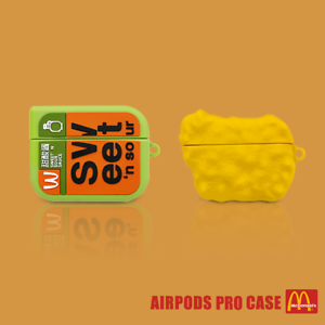 Chicken Nugget Sauce Silicone Case Cover For Apple Airpods Pro Ebay