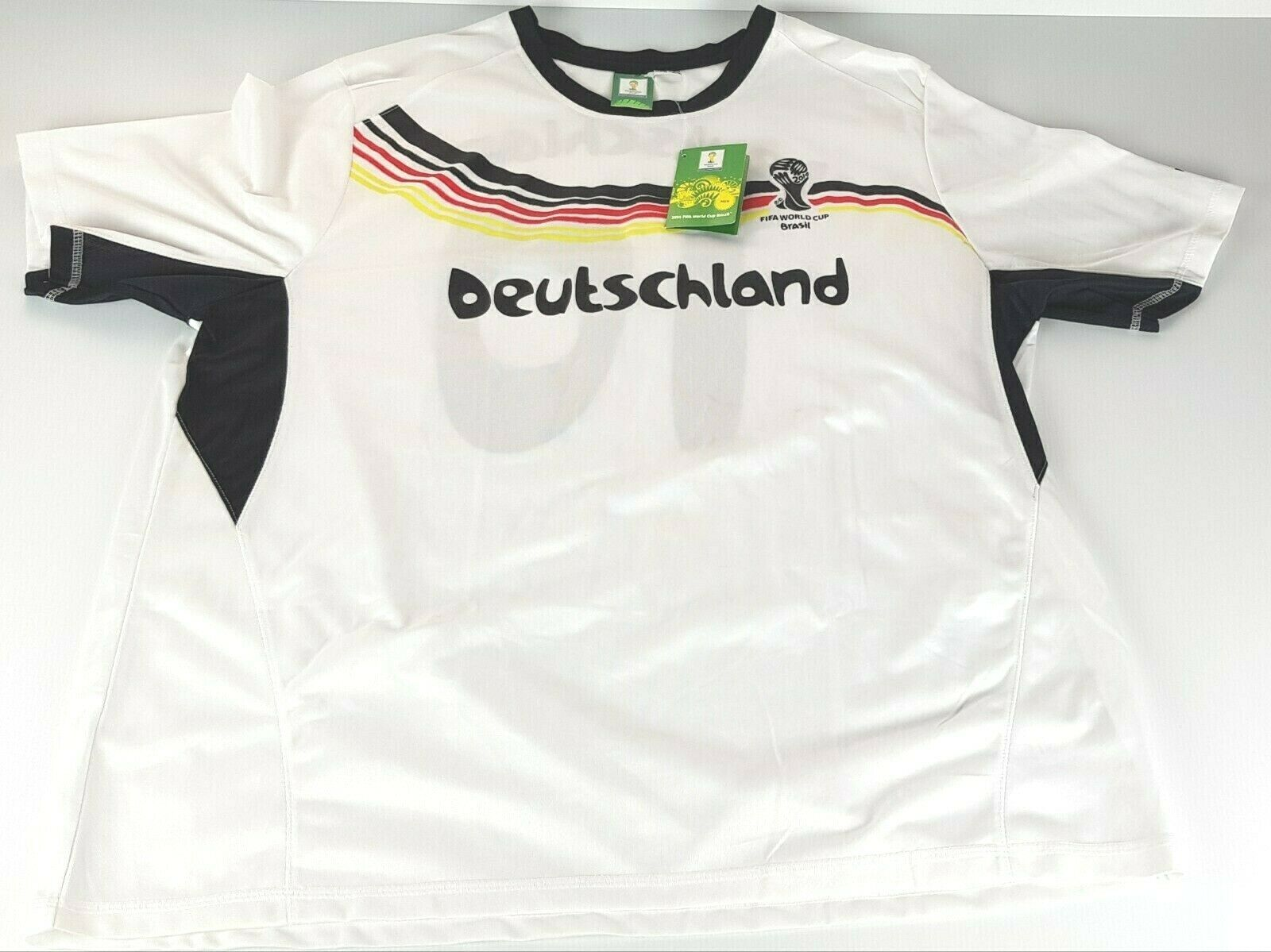 nuovo XXL uomini Deutschle Geruomoy Fifa World Cup 2014 Footbtutti Soccer Top Jersey