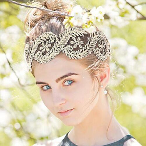 7 Pcs//Set Girl Lace Headbands Stretch Elegant Wide Hairband Fashion Headwear C