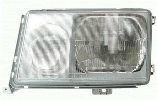 Left side headlight for Mercedes E-Class W124 85-89 HALOGEN diffuser