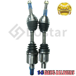Front CV Axle Shaft Set Pair for Typhoon Bravada Syclone Pickup Truck S10 S15