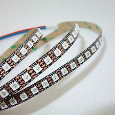 1m WS2813 Digitaler LED Strip - 100LEDs/m (WS2811, WS2812B) IP20, schwarz