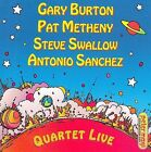 Quartet Live by Gary Burton (Vibes) (CD, Jun-2009, Concord)