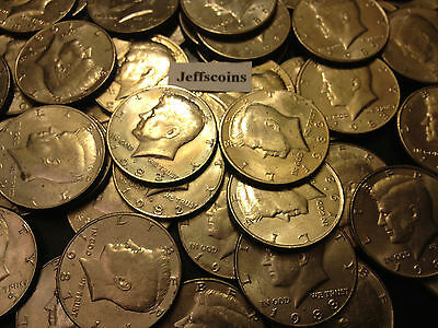 ✯ Kennedy Half Dollar Coin 1971-1979,1980-1989,1990-2018 P D Old US Mint 50¢ Lot