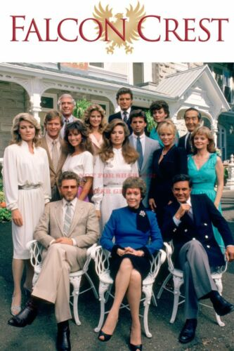 FALCON CREST 80s 90s Poster TV Movie Photo Poster 1 24 by 36 inch