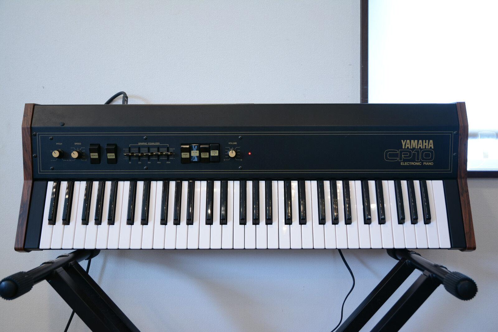 Yamaha CP10 CP10 CP10 Piano Eléctrico Vintage 1970s Piano Eléctrico Con Estuche Original db5ed4