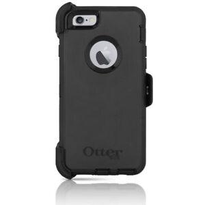 OtterBox Defender Black Case & Belt Clip Holster for Apple iPhone 6 4.7-Inch