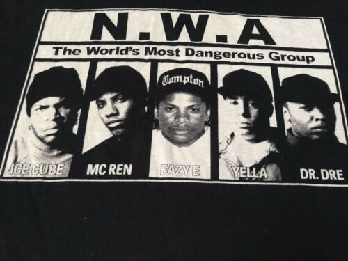 NWA Rap Tee XXL