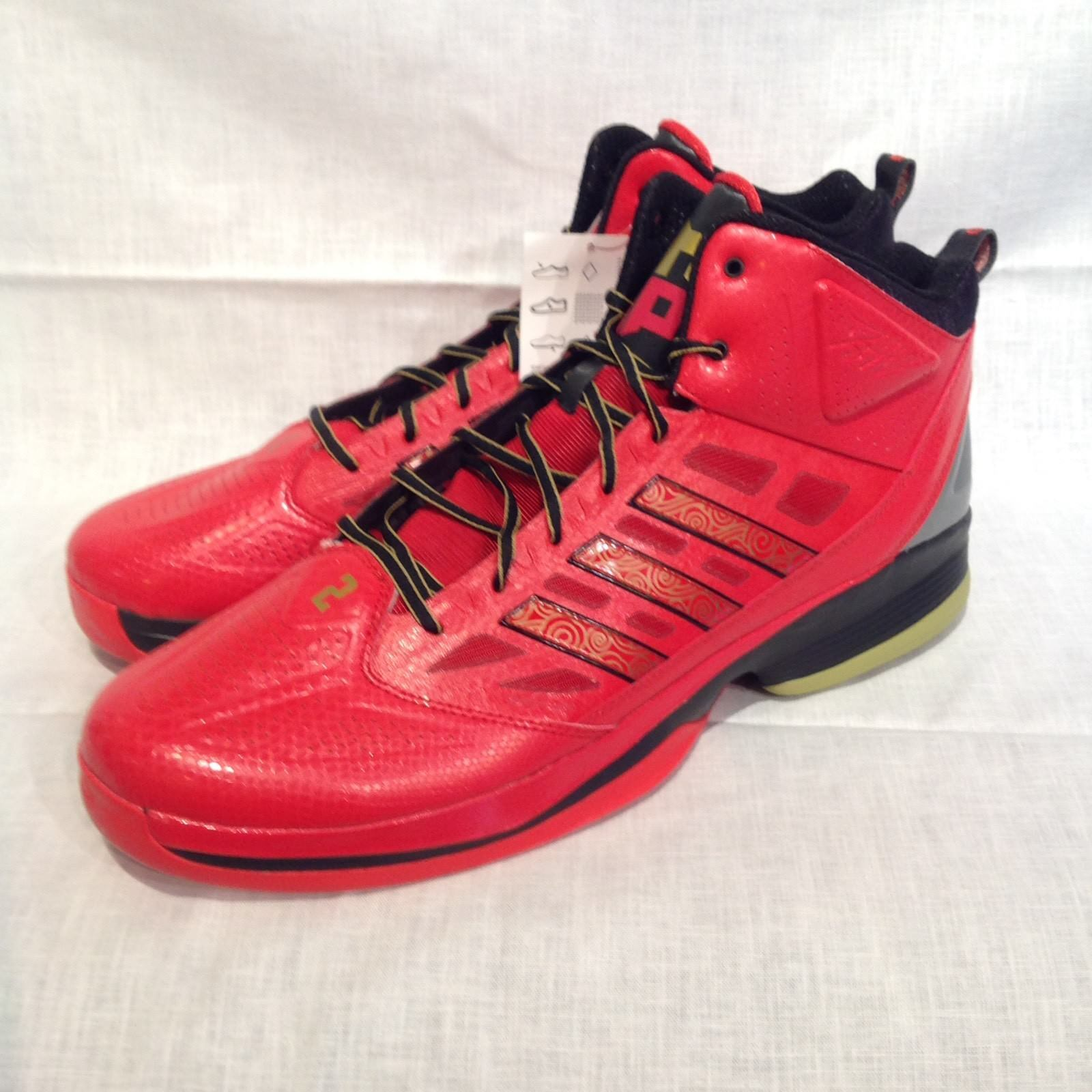Adidas D Howard Light Basketball Sneakers - Size 17