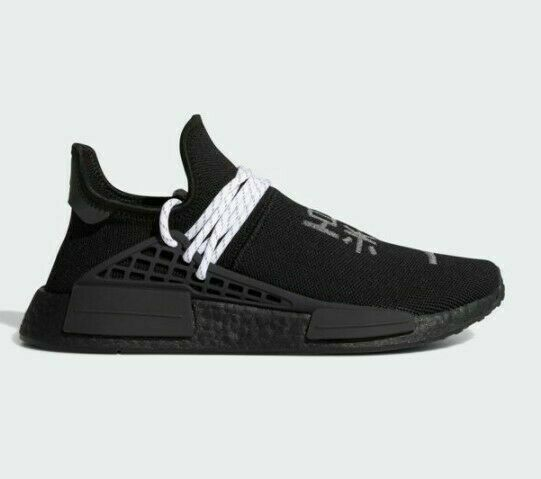 Size 12 - adidas NMD Human Race x Pharrell Black 2020 for sale online   eBay