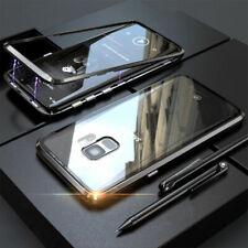 Hülle Samsung Galaxy S8 S9 S10 S20 Plus 360°Magnet Glas Case Handy Tasche Schutz