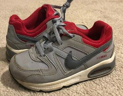 Size 7C 844351-061 BABY GIRL Nike Air Max Command Flex Shoes Pink /& Gray