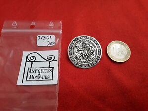 Dutiful Antik Brosche satz Pelota Quetzalcoatl Mexico Sterling Silber Ref36364