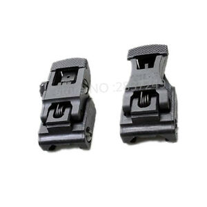new-Folding-Front-amp-Rear-Flip-up71L-F-R-Set-Front-amp-Rear-Sight-Set-free-delivery