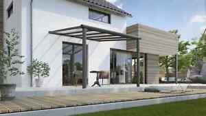 Terrando Alu Terrassenüberdachung, Terrassendach, Vordach, Pergola Aluminium