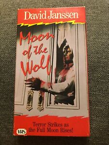 Moon-Of-The-Wolf-Rare-amp-OOP-Horror-Movie-Goodtimes-Home-Video-Release-VHS-1983