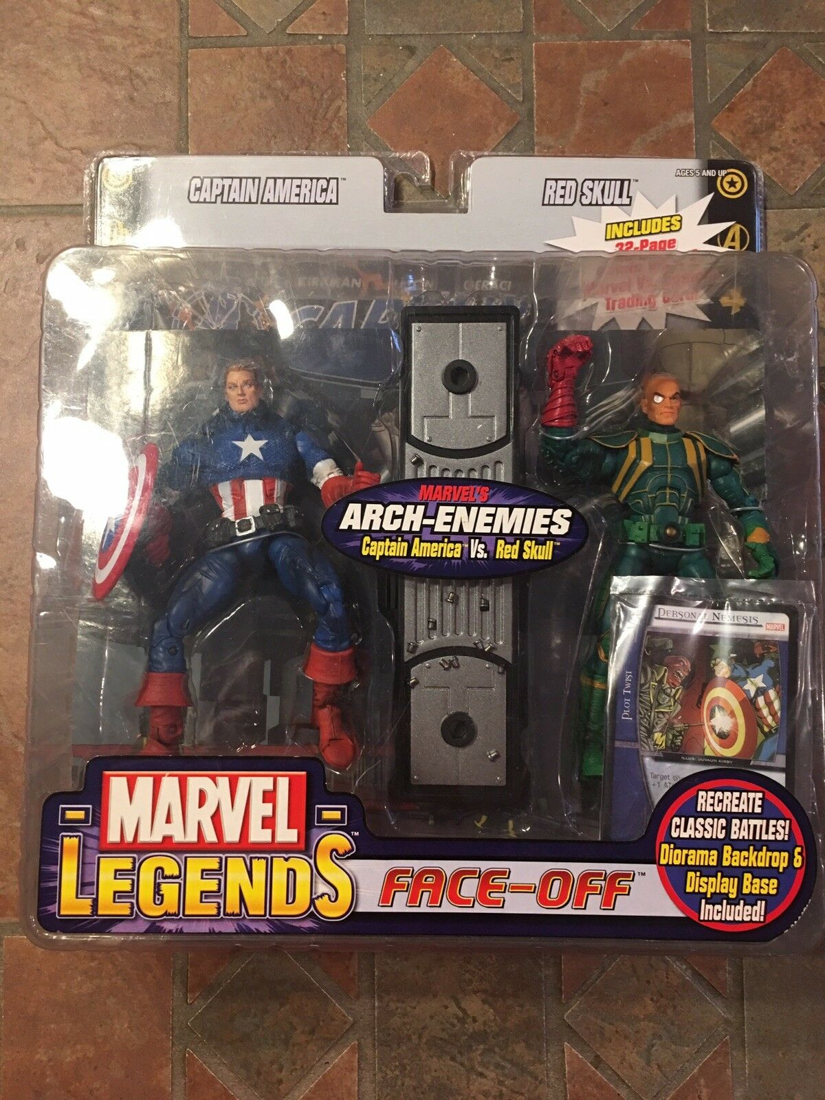 Marvel Legends Capitan Capitan Capitan America Vs Barone Von Strucker Face-Off fef241