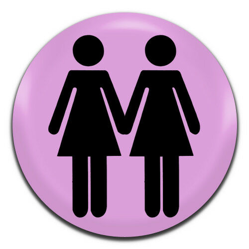 1 Inch D Pin Button Badge LGBT Lesbian WC Gay 25mm