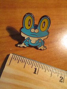 FROAKIE-Metal-PIN-BADGE-Pokemon-XY-Collection-Starter-Figure-Box-Set-2013-XY03