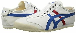 new concept e71e9 b66f6 Details about Asics Onitsuka Tiger shoes MEXICO 66 SLIP-ON CV TH1B2N White  / tricolor Japan