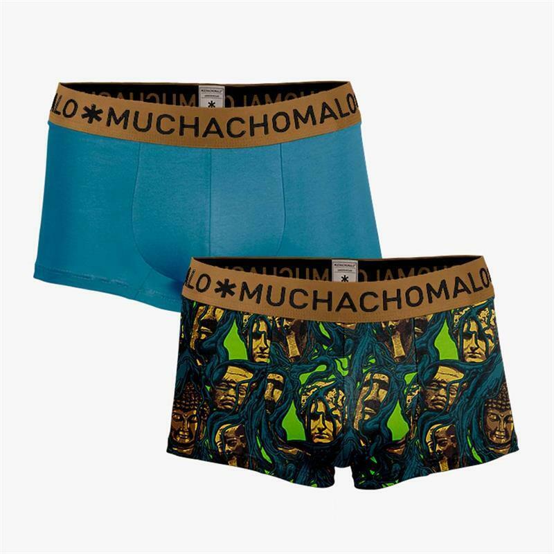 Muchachomalo 2er Set Algodón Boxer Raíces en M L XL Nuevo