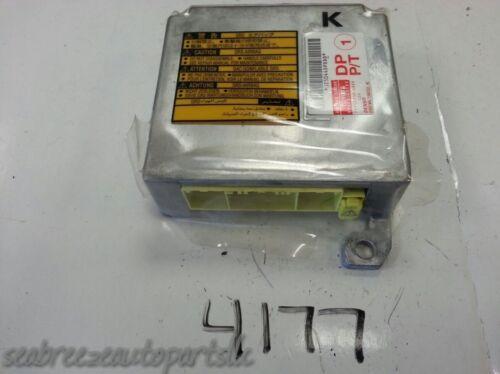 02 03 2002 2003 TOYOTA CAMRY AIR BAG AIRBAG CONTROL MODULE UNIT RELAY SENSOR SRS