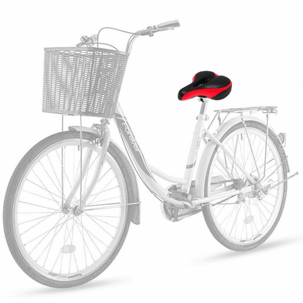 2054 Sella Velo Vintage Blu con Borchie per bici 20-24-26-28 Tipo Pieghevole