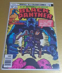 Black-Panther-8-Mar-1978-Bronze-Age-Marvel-034-Jack-Kirby-034-NM-9-6-1st-Prt-KEY