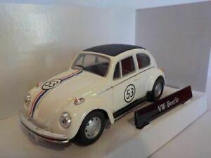 Vw-Beetle-Herbie-Model-Car-Cararama-1-43