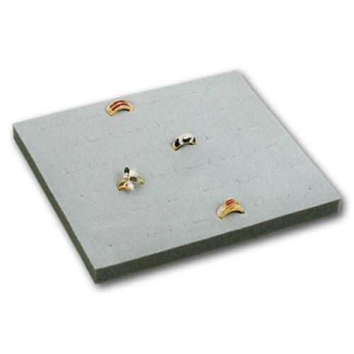36 ~ 72 Jewelry Ring Display Organizer Case Tray Holder Showcase Display Storage