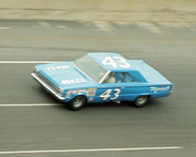 1966 Nascar RICHARD PETTY Glossy 8x10 Photo Print Daytona 500 Plymouth Poster