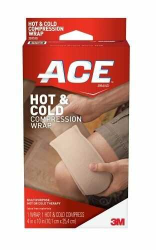 2 Pack Ace Hot And Cold Compression Wrap Reusable 1 Each