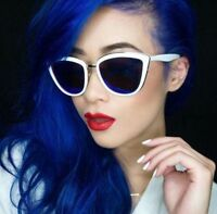 Cat Eye Gold/silver Mirrored Mirror Reflective Lenses Ronette Sunglasses My Girl